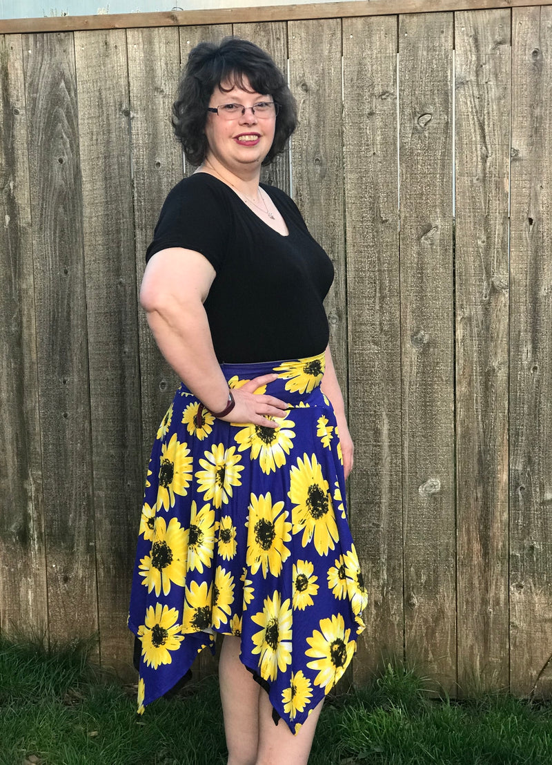 Jersey Skirt Pattern (adult)