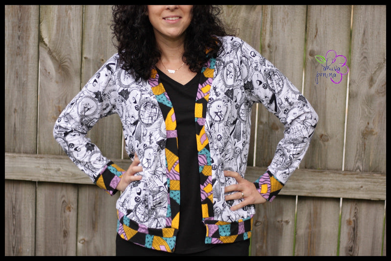 Adult Chapman Cardigan Pattern Curvy Fit