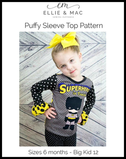 Puffy Sleeve Top Pattern