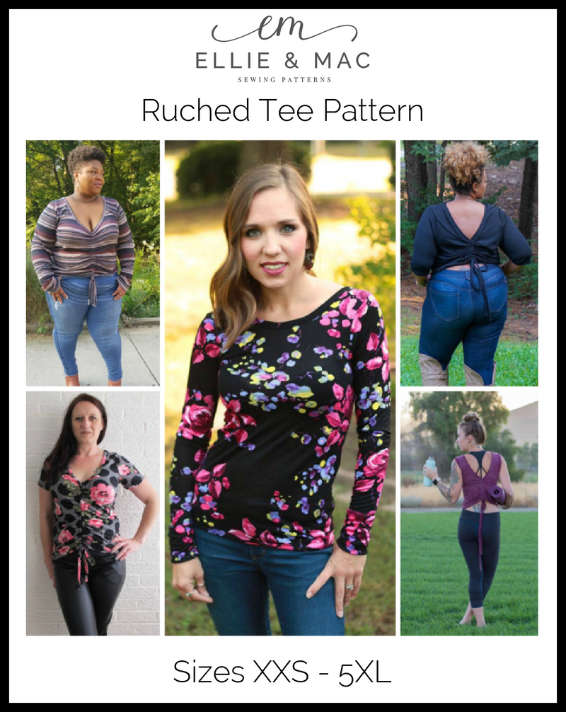 Ruched Tee Pattern