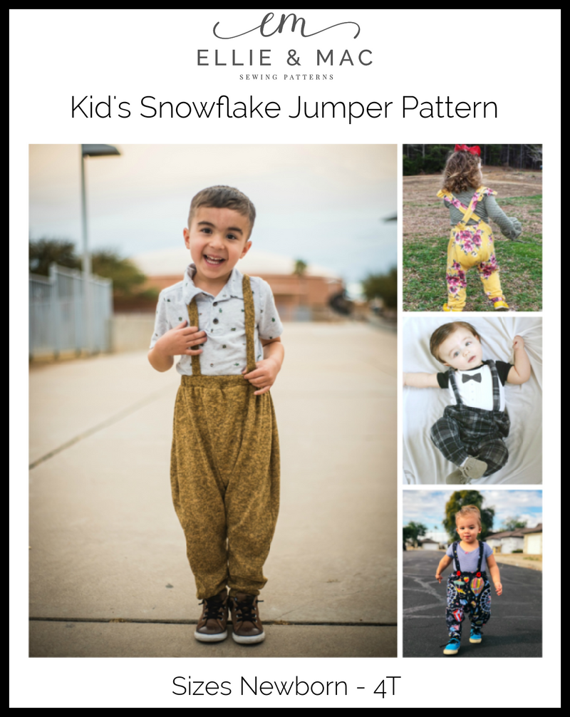 Snowflake Jumper Pattern (kid's)