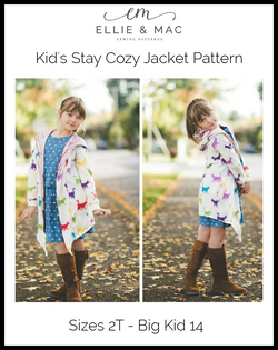 Stay Cozy Jacket Pattern Kid's