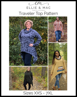 Traveler Top Pattern Updated