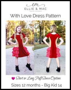 With Love Dress Pattern