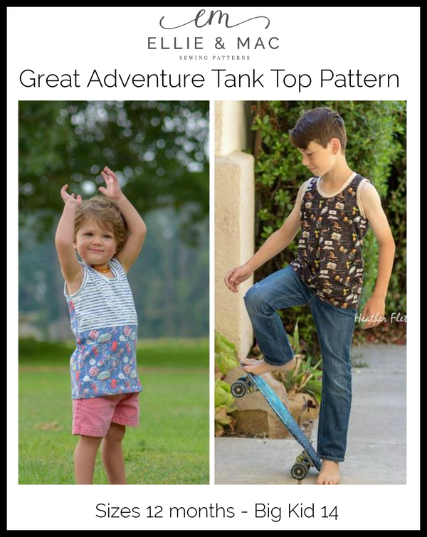Great Adventure Tank Top Pattern