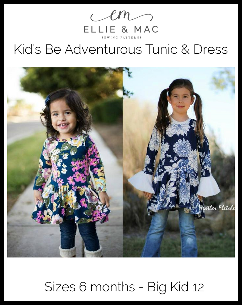 Be Adventurous Tunic Pattern (kid's)