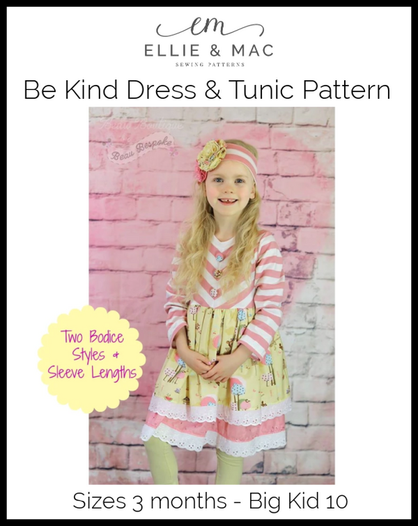 Be Kind Dress & Tunic Pattern