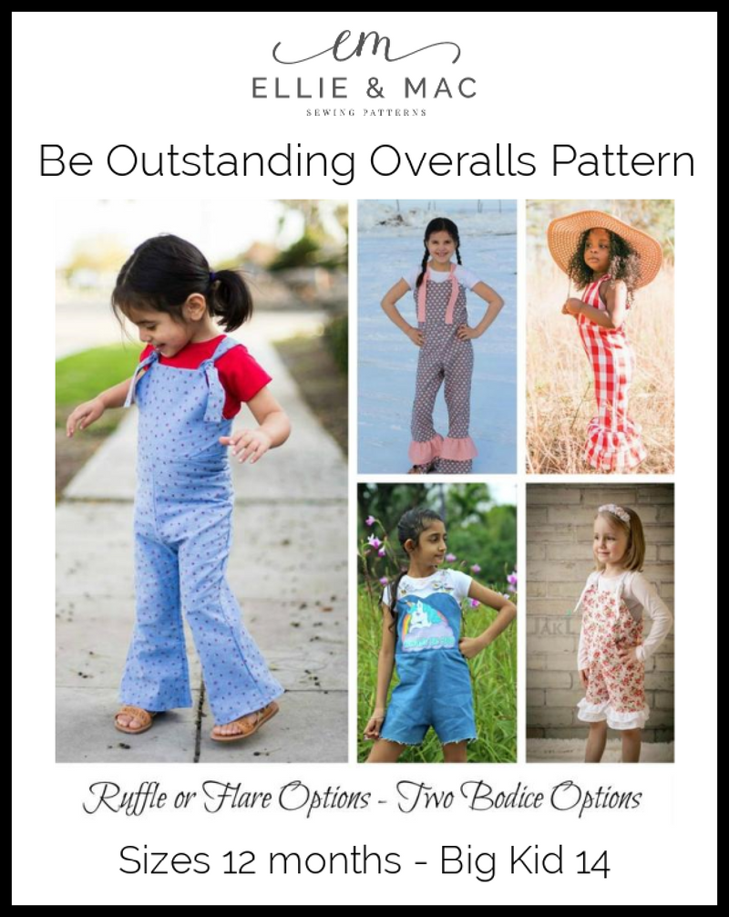Be Outstanding Overalls Pattern