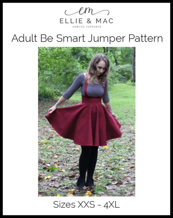 Be Smart Jumper Pattern (adult) Wacky