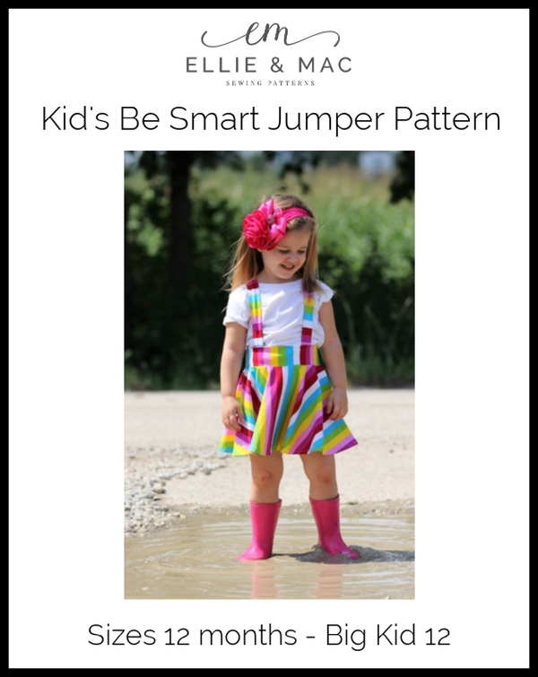 Be Smart Jumper Pattern (kid's) Wacky