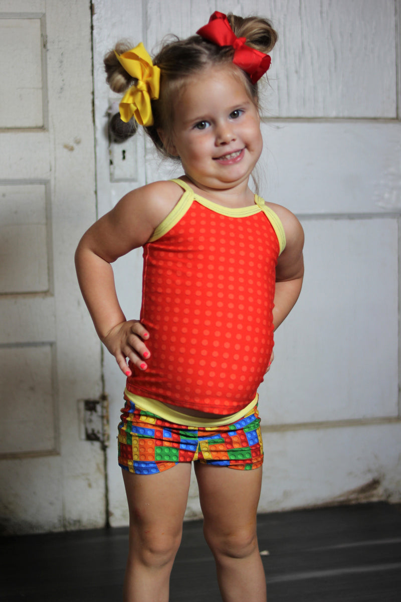 Kid's Cami, Undies, & Shorts Pattern