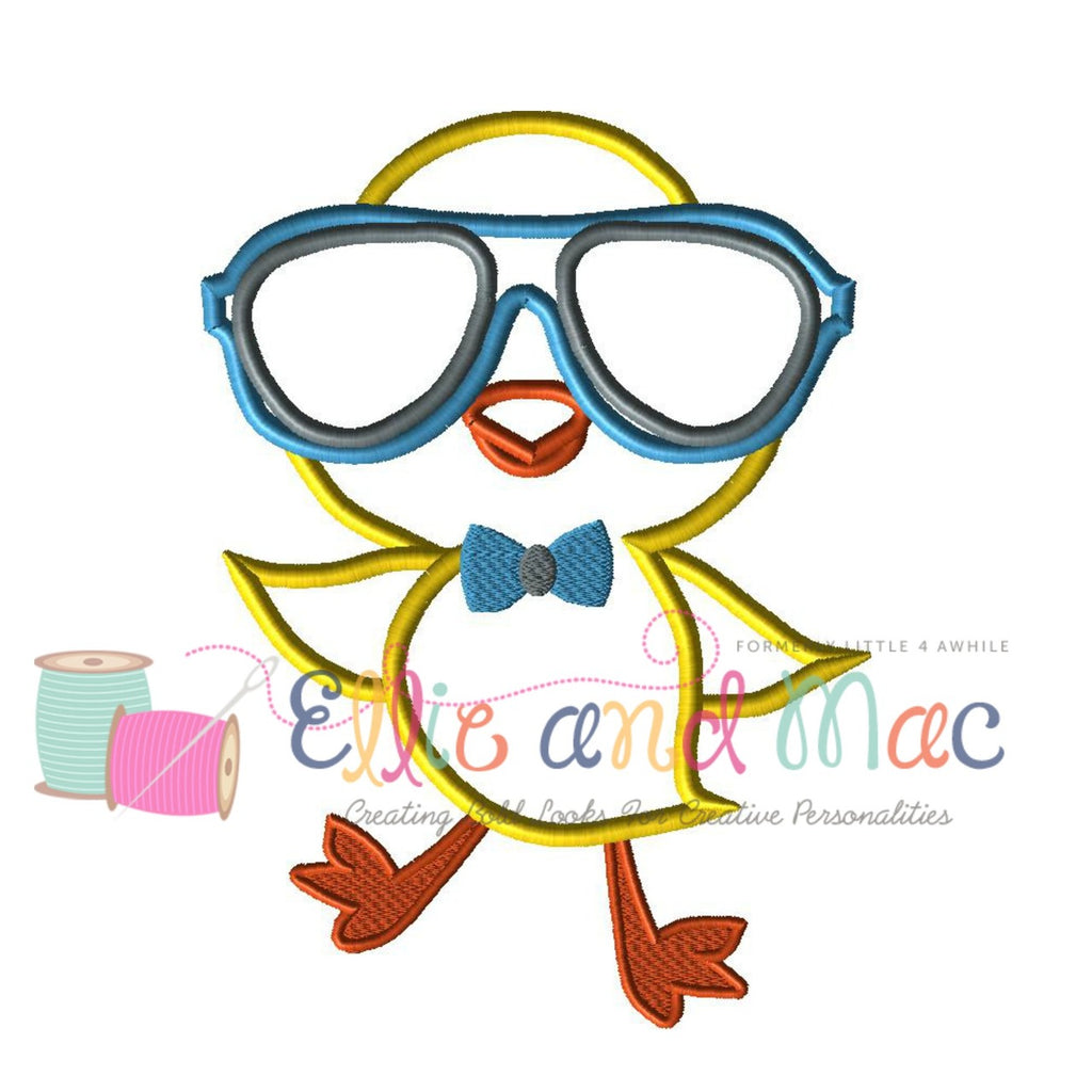 Cool Chick Applique Design