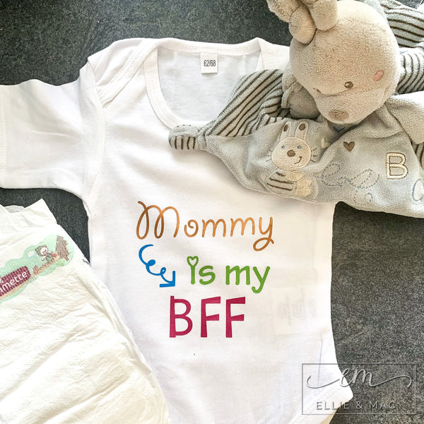 Mommy is my BFF Cut File