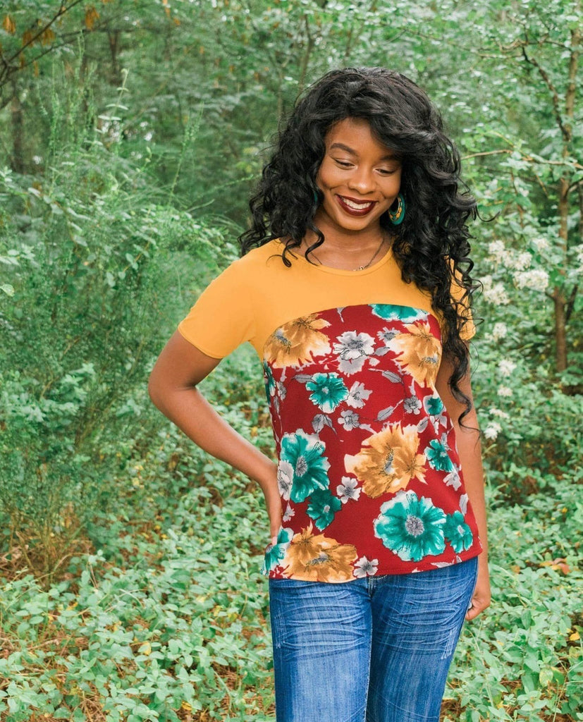 Women's Discoverer Tee Pattern - Ellie and Mac, Digital (PDF) Sewing Patterns | USA, Canada, UK, Australia