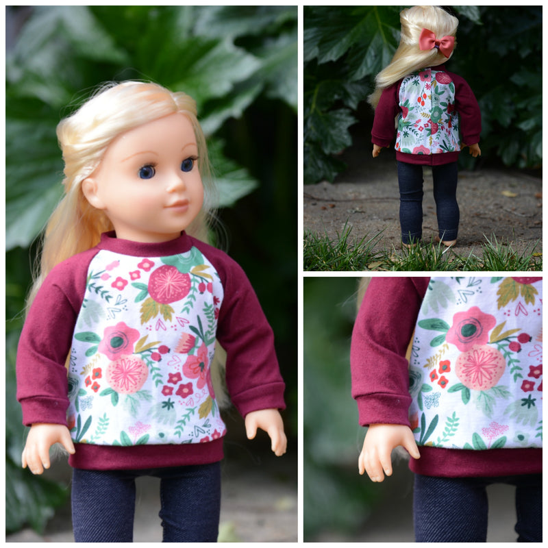 Going Home Sweater Doll Pattern