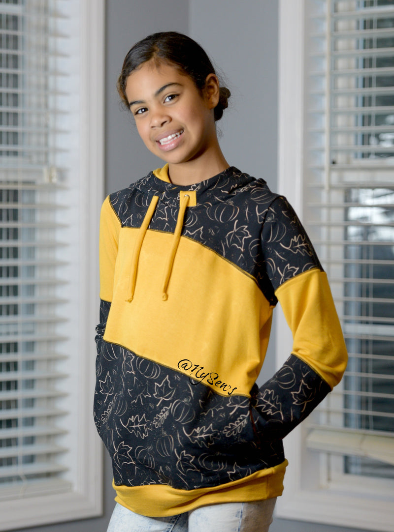 Around the Block Hoodie Pattern Bundle