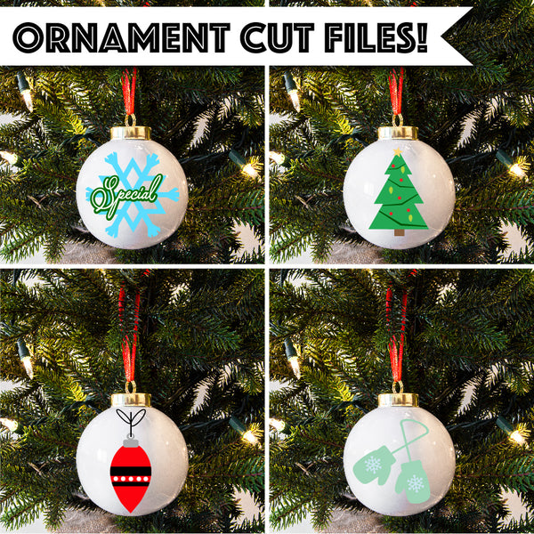 Christmas Ornament Cut Files