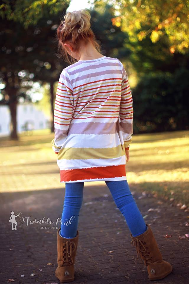 Playful Tunic Pattern