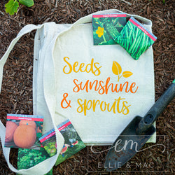 Seeds Sunshine & Sprouts Cut File