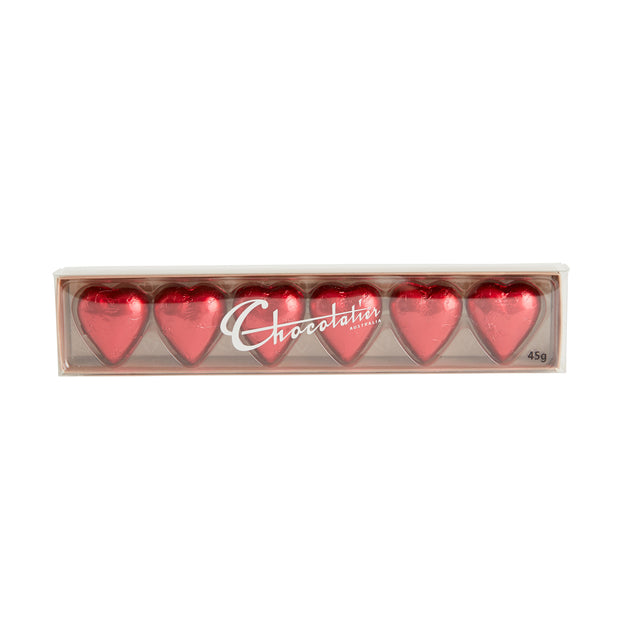 Red Hearts Chocolate Gift Box