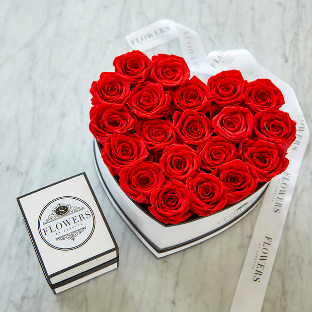 Box of Love - Long Lasting Roses