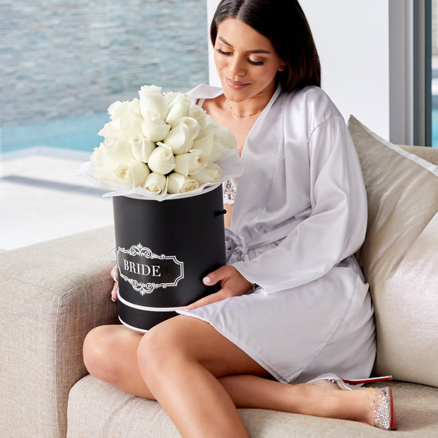 Luxury - White Roses