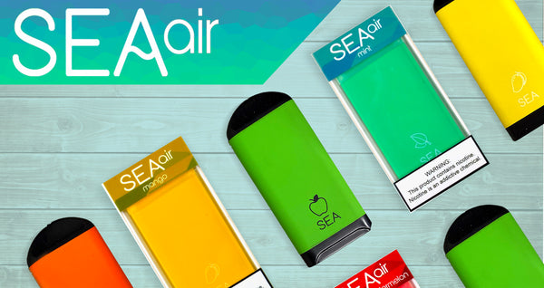 SEA Air Review: New Format of Disposable Vape