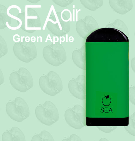 SEA Air Green Apple Disposable Device
