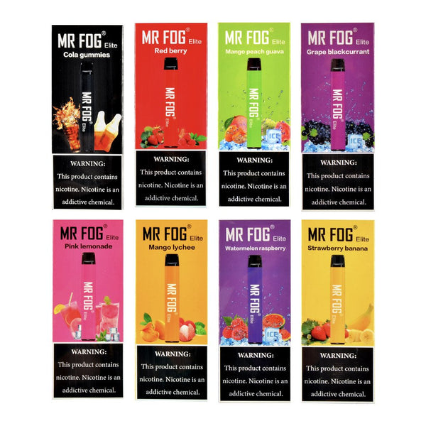 Mr Fog Elite Vape - Disposables Vape