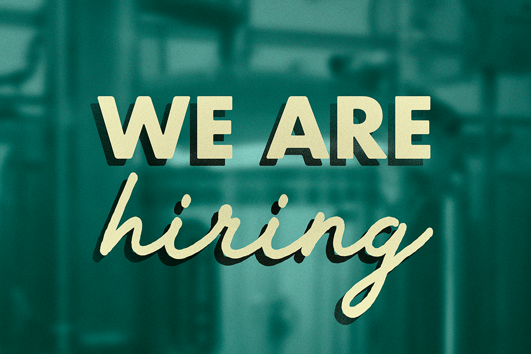 We're hiring a Brewery Assistant!