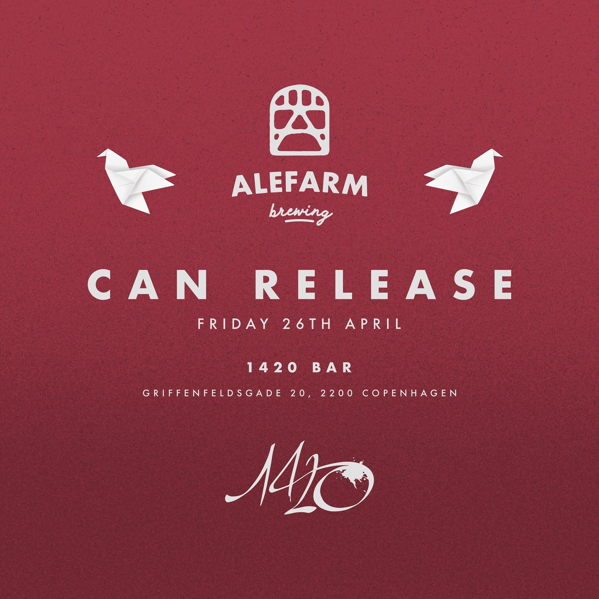 Can Release at 1420 Bar in Copenhagen.