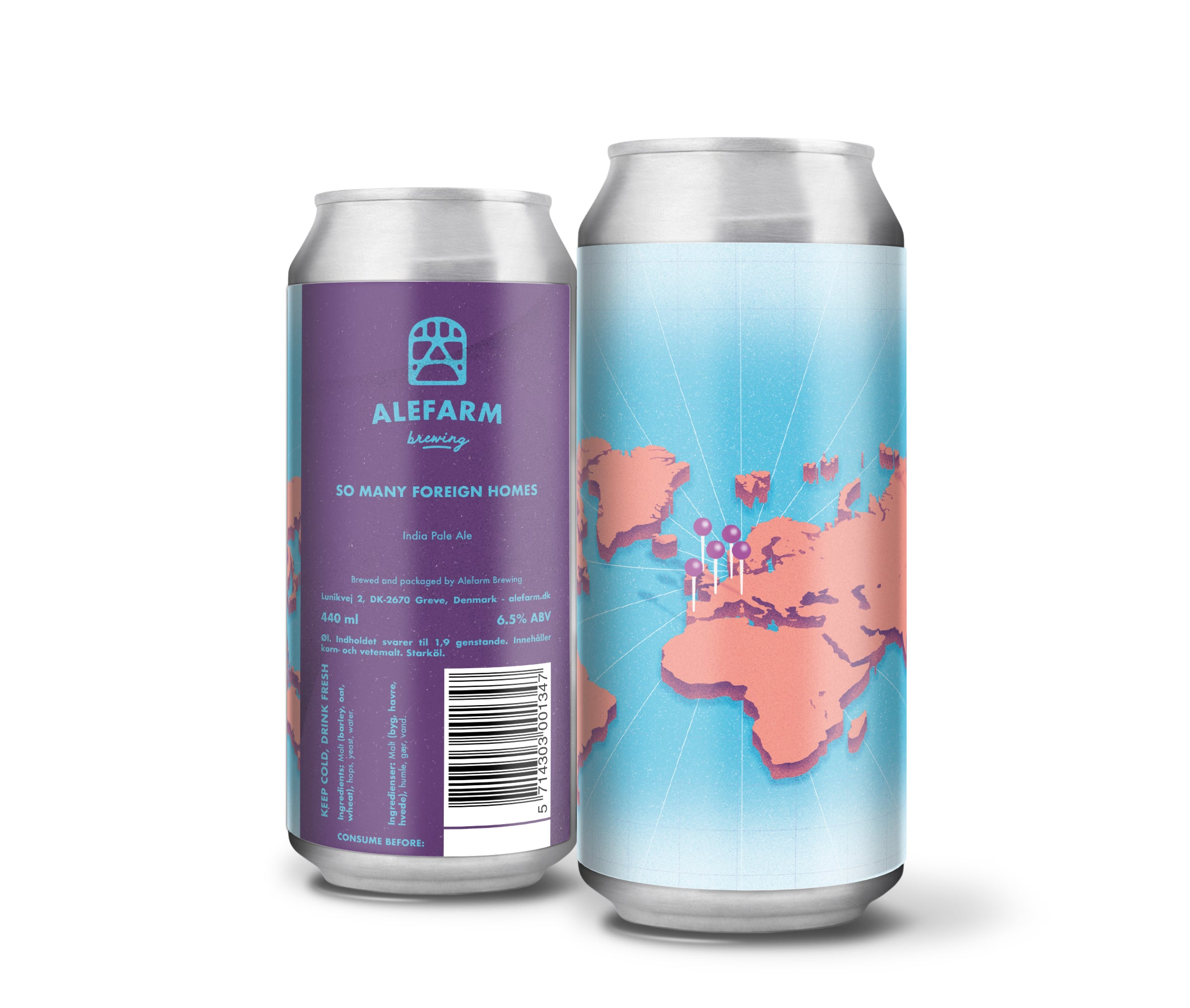 So Many Foreign Homes (IPA)