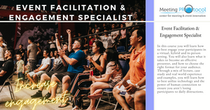 Facilitation & Engagement Specialist Certificate