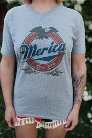 4th of July: 'Merica Graphic Tee