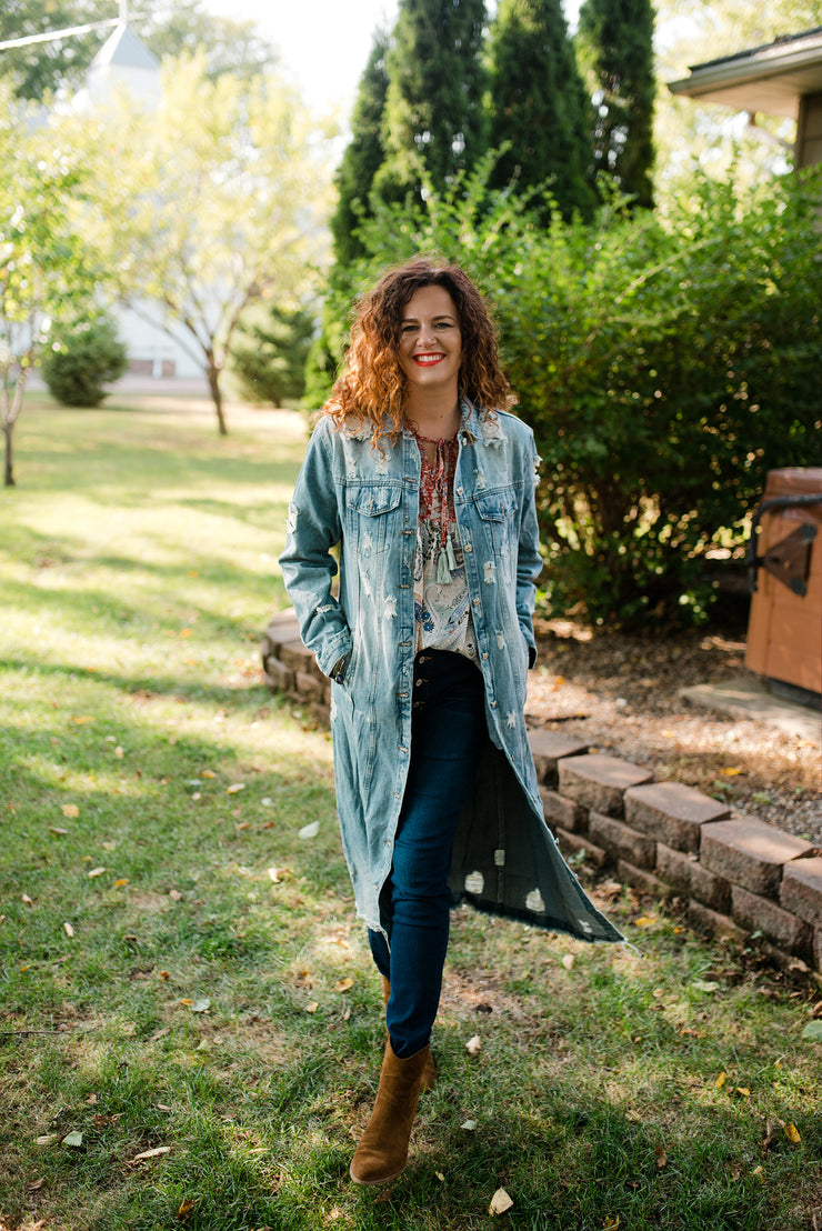 Good Karma Denim Coat