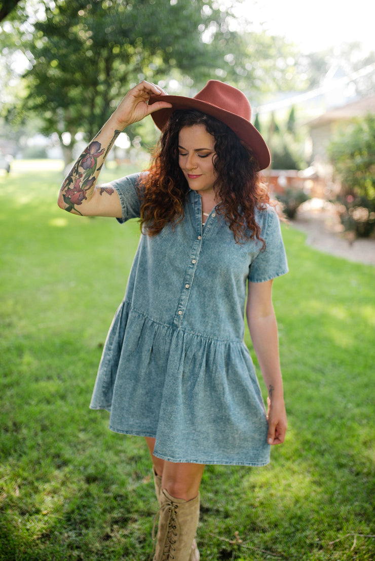 Margot Chambray Dress