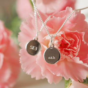 Personalised London postcode pendant