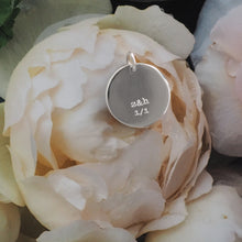 Personalised pendant