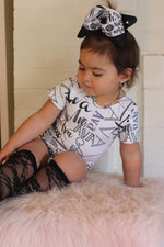 Personalized Baby Name Leotard (Sizes infant to kids 12)