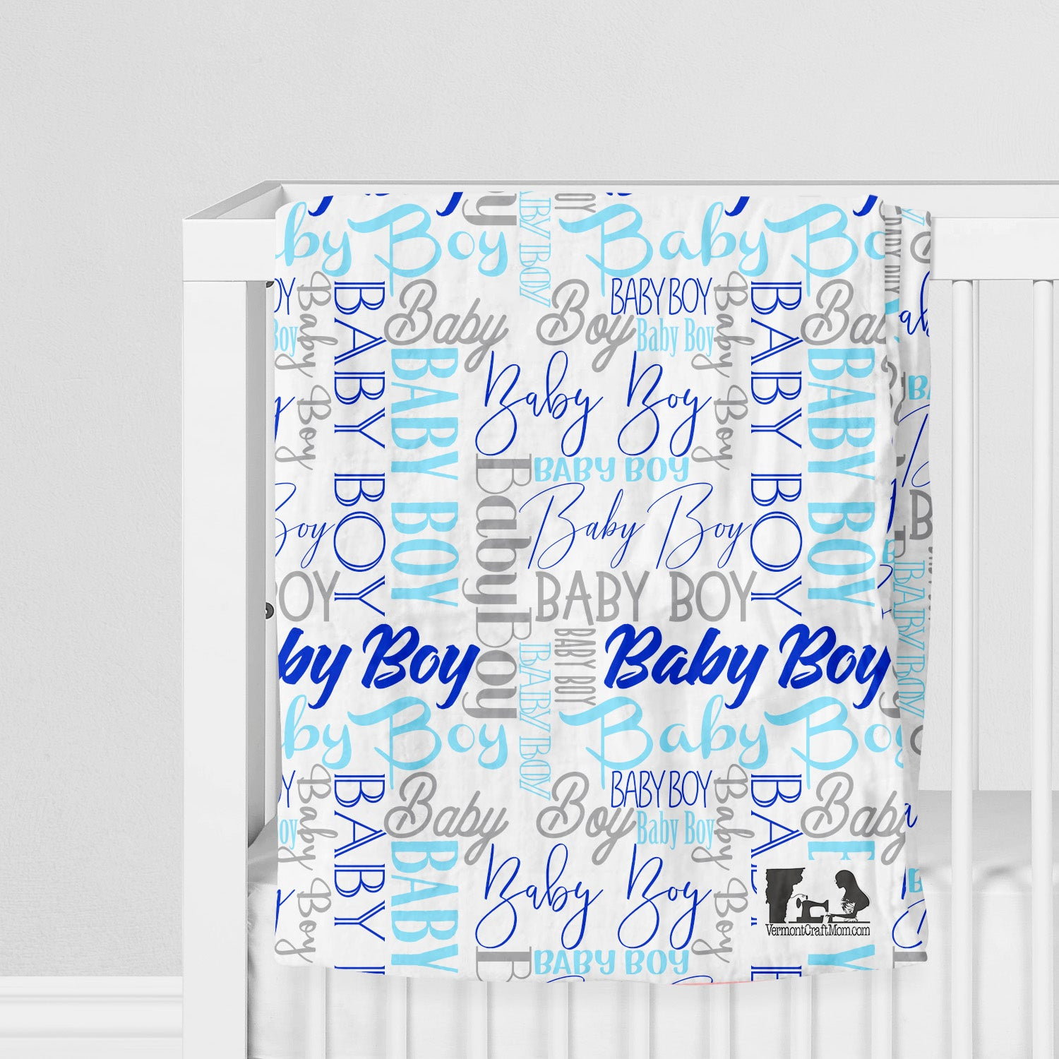 Baby Girl or Baby Boy Swaddle or Fleece Blanket