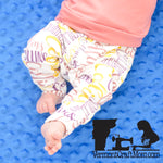 Personalized Baby Name Pants (baby and toddler sizes)