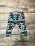 6-9 Months Aztec Striped French Terry Joggers