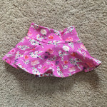 12-18 Months Floral Bird Silhouette Skirted Bummies