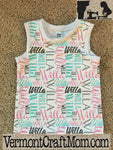 Personalized Baby Name Tank Top