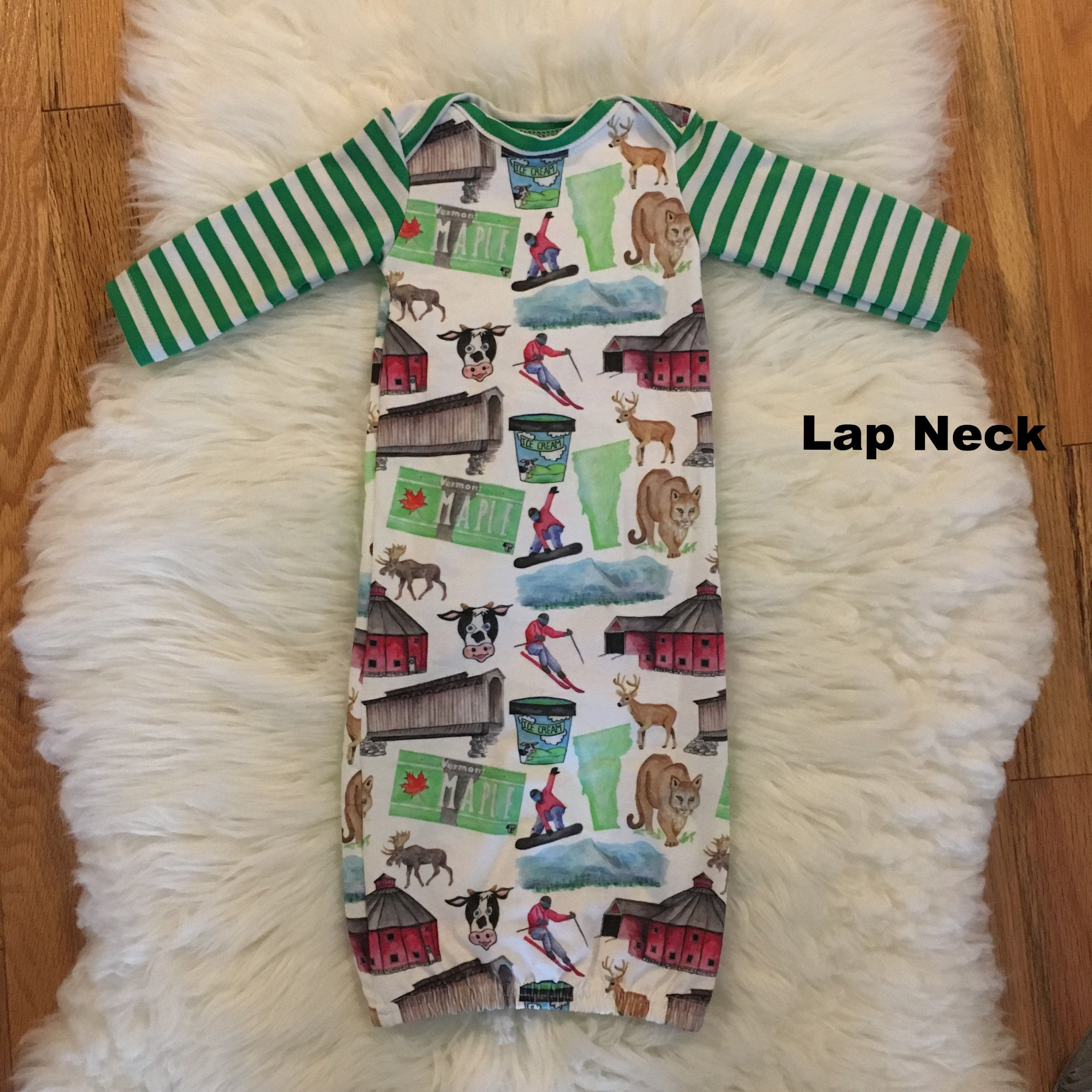 Vermont Baby Gown, Coming Home Outfit