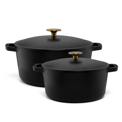 4-Piece Cast Iron Cookware Set