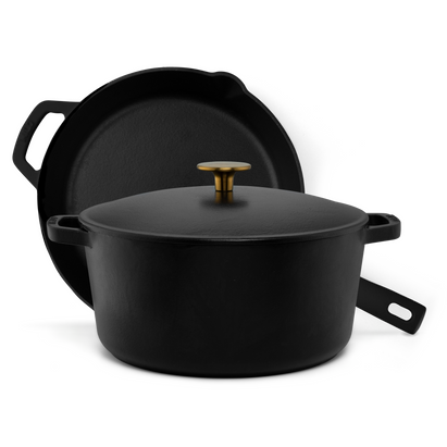 3-Piece Cast Iron Cookware Set