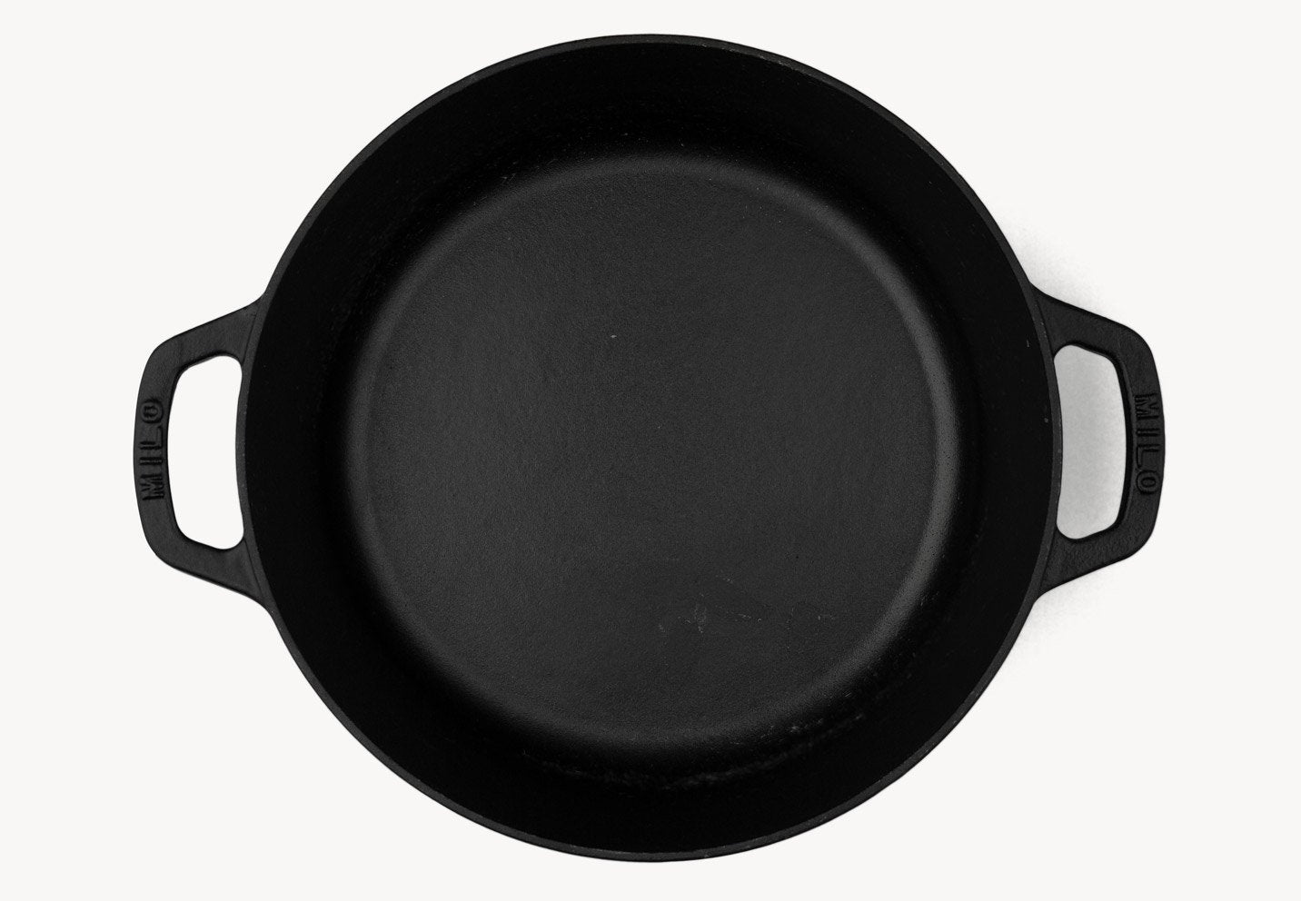 large dutch oven - black