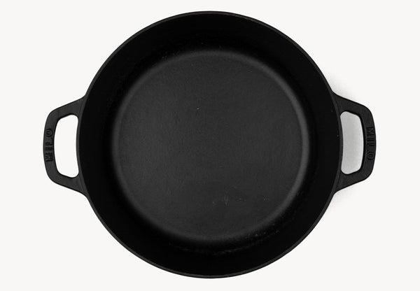 small dutch oven - black
