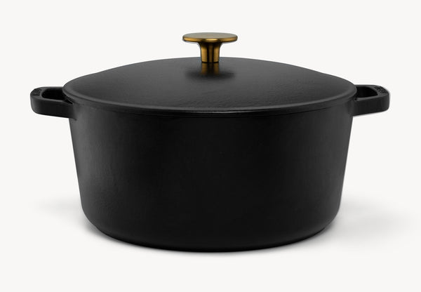 dutch oven pot 3.5 quarts black